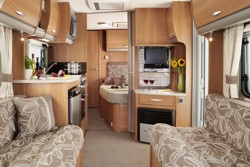 2011 Swift Charisma interior