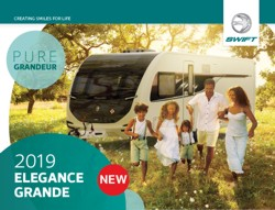 2019 Swift Elegance Grande brochure